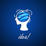 Business icon idea Royalty Free Stock Photography