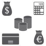 Business icon isolated on white background. Business icon set isolated on white background Stock Photos