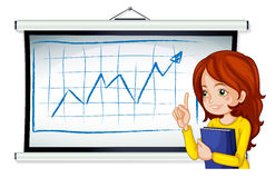 A business icon reporting Stock Images