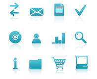 Business icon set. Set of useful business icons Stock Photography
