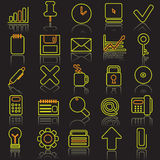 Business icon set. Vector illestrated Business icon set Royalty Free Stock Images