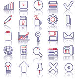 Business icon set. Vector illestrated Business icon set Royalty Free Stock Photo