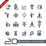 Business Icon Set // Basics Royalty Free Stock Images