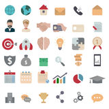 Business icon set Royalty Free Stock Photography