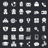 Business icon set Stock Photo