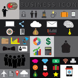 Business icon set  illustration eps10. Flat icon  sign illustration eps10 Stock Photos