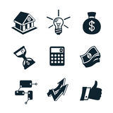 Business icon set part 3 Stock Image
