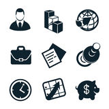 Business icon set part 4 Royalty Free Stock Photo