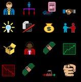 Business icon set series Stock Image