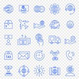Business Icon set. 25 Vector Icons Pack stock illustration