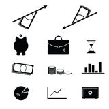 Business icon set vector Stock Image