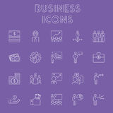 Business icon set. Stock Photography