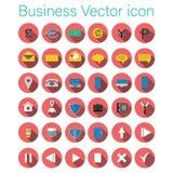 Business  icon set. 25 vektor icon Stock Photography