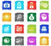 Business icon set Stock Image
