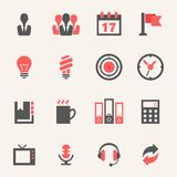 Business. Icon set Stock Photography