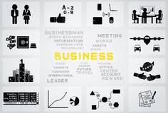 Business icon Royalty Free Stock Photography