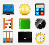 Business icon vector illustration set1. This is file of EPS10 format stock illustration