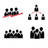 Business icon vector Stock Photos