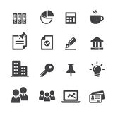 Business icon Stock Images