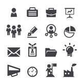 Business icon Stock Image