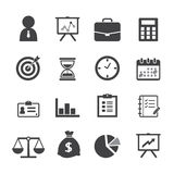 Business icon Stock Photography