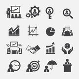 Business icon. Web icon symbol design illustrator Stock Images