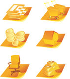 Business icons - 1 Stock Photo