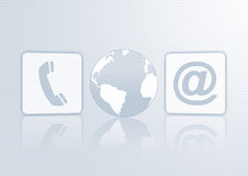 Business icons Stock Photography