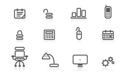 Free Business Icons Stock Image - 1708951