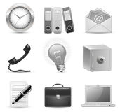 Business icons royalty free illustration