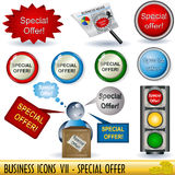 Business Icons 7 Royalty Free Stock Images