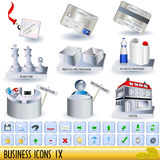 Business icons 9 Royalty Free Stock Images