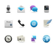 Business icons Royalty Free Stock Photography