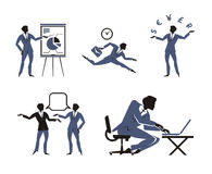 Business icons. Authors illustration in vector Stock Illustration
