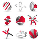 Business icons design Stock Image