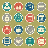 Business Icons Stock Photo