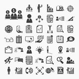 Business icons and Finance icons set.2  on  White paper Stock Image