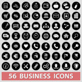 Business icons. Finance  management businessman Stock Images