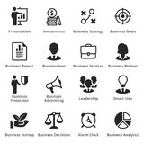 Collection of Business Icons - Set 3. Business icons, great for presentations, web design or any type of design projects Royalty Free Stock Photo