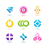 Business Icons. Illustration of different colorful Business Icons vector illustration