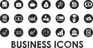 Business icons, management and human resources set1. vector eps 10.. Business icons, management and human resources set1. vector eps 10 Royalty Free Stock Photos