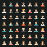 Business icons and people icons Royalty Free Stock Photography