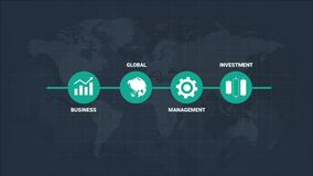 Infographics Business Icons Presentation Concept