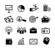Business icons - productivity, management Royalty Free Stock Photo