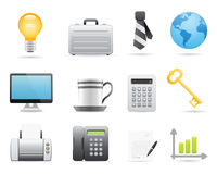 Business Icons Set 2 Stock Image