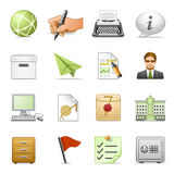 Business icons, set 4. Royalty Free Stock Image