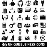 Business_icons_set 向量例证