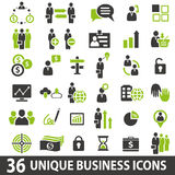 Business Icons. Set of 36 business icons Stock Images