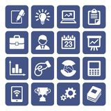 Business Icons Set Stock Photo