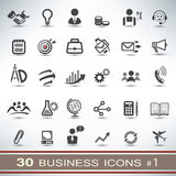 30 business icons set Stock Image